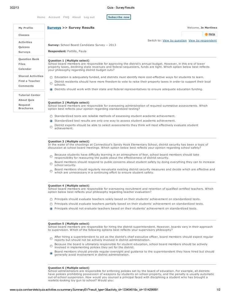 Paula Patillo Quia - Survey Results-1